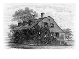 NYC: Farmhouse, 1698 Giclee Print by Samuel Hollyer