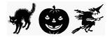 Symbols: Halloween Giclee Print