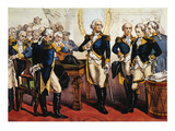 Washington's Farewell Giclee Print by  Currier & Ives