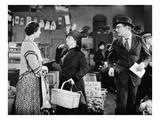 Silent Film Still: Stores Prints