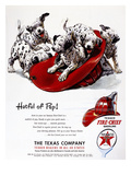 Texaco Advertisement, 1951 Giclee Print
