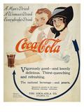 Coca-Cola Ad, 1914 Giclee Print