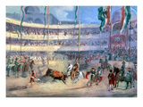 Mexico: Bullfight, 1833 Giclee Print by Johann Moritz Rugendas