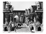 Film Set: Intolerance, 1916 Giclee Print by D.W. Griffith