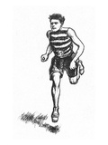 Athletics: Runner, c1900 Giclee Print