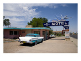Route 66 Motel, 2006 Prints by Carol Highsmith