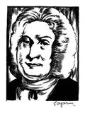 Francois Couperin Giclee Print by Samuel Nisenson