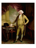 John Adams (1735-1826) Giclee Print by William Winstanley