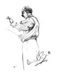 Sir Adrian Boult Giclee Print by Hilda Wiener