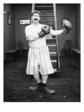 Silent Film Still: Boxing Posters