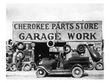 Evans: Garage, 1936 Prints by Walker Evans