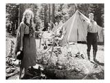 Silent Still: Camping Prints