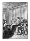 Declaration of Independence Giclee Print by Johann Heinrich Ramberg