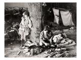 Silent Still: Camping Print
