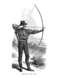 Archery, 19th Century Giclee Print