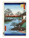 Japan: Inlet, 1857 Giclee Print by Ando Hiroshige