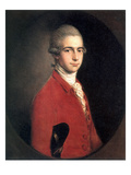 Thomas Linley the Younger Print by Thomas Gainsborough