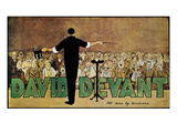 David Devant: Poster c1910 Prints by John Hassall