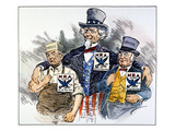 Cartoon: New Deal, 1933 Giclee Print by Clifford K. Berryman