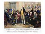 George Washington Giclee Print by  Currier & Ives