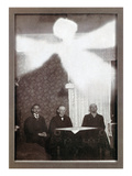 Spirit Photograph, c1900 Giclee Print by Theodor Prinz
