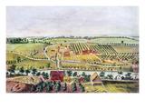 Pennsylvania: Bethlehem Giclee Print by Nicholas Garrison