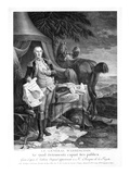 Washington at Yorktown Premium Giclee Print by Noel le Mire