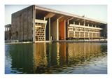 India: Supreme Court Giclée-Druck von  Le Corbusier