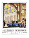 Cadillac Ad, 1927 Giclee Print by J.M. Cleland