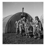 WWII: Tuskegee Airmen, 1945 Giclee Print by Toni Frissell