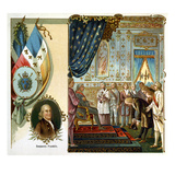 Franklin at Versailles Giclee Print