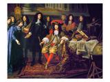 Louis XIV (1638-1715) Giclee Print by Henri Testelin