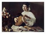 Caravaggio: Luteplayer Prints by  Caravaggio