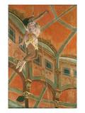 Degas: Miss La La Giclee Print by Edgar Degas