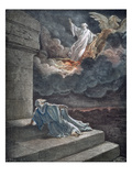 Elijah in Heaven Prints by Gustave Doré