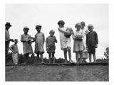 Migrant Families, 1936 Giclée-tryk af Dorothea Lange