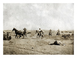 Texas: Cowboys, c1908 Giclee Print by Erwin Evans Smith