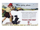 Texaco Advertisement, 1934 Giclee Print