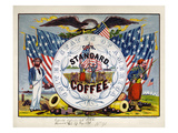Coffee Label, c1862 Giclee Print by  Kilburn & Mallory