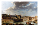 Paris: Ile Saint-Louis Prints by Nicolas Raguenet