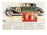 Ads: Buick, 1932 Giclee Print