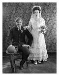 Silent Film Still: Wedding Prints