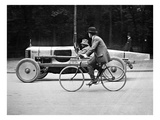 Lartigue: Automobile, 1912 Giclee Print by Henri Lartigue