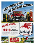 Mobil Advertisement, 1953 Giclee Print