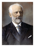 Peter Ilich Tchaikovsky Giclee Print