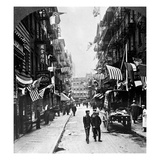 New York : Chinatown, 1909 Giclee Print