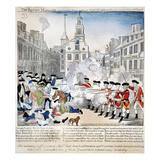 Boston Massacre, 1770 Giclee Print by Paul Revere