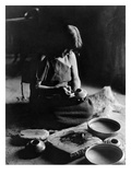 Hopi Potter, c1906 Art by Edward S. Curtis