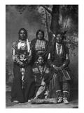 Crow Native Americans, 1883 Giclee Print by Frank Jay Haynes