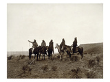 Apache Men, c1903 Prints by Edward S. Curtis